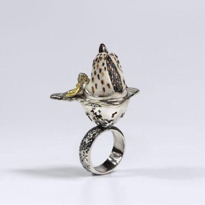 Žiedas Nerianti Antis